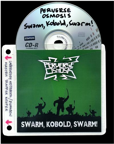 Swarm, Kobold, Swarm! CD