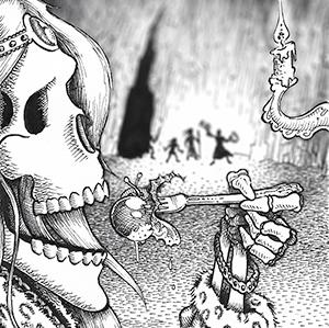 skeletondinnerparty